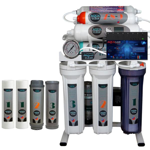 دستگاه تصفیه کننده آب آکوآ کلیر مدل NEWDESIGN 2020 - IAFQ10 به همراه فیلتر مجموعه 4 عددی