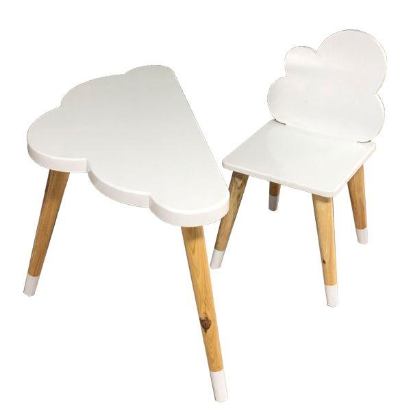 ست میز و صندلی کودک مدل نیمه ابر