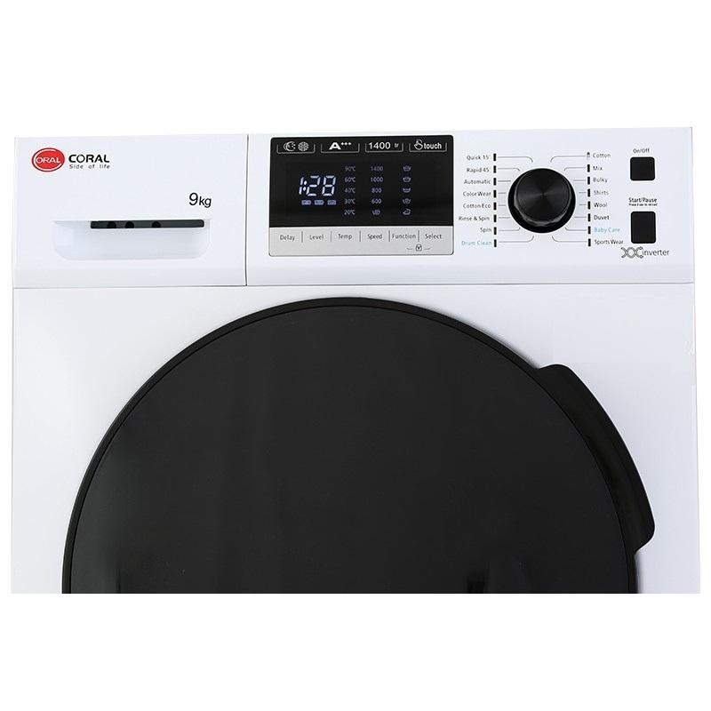 ماشین لباسشویی کرال مدل TFW 49413 ظرفیت 9 کیلوگرم