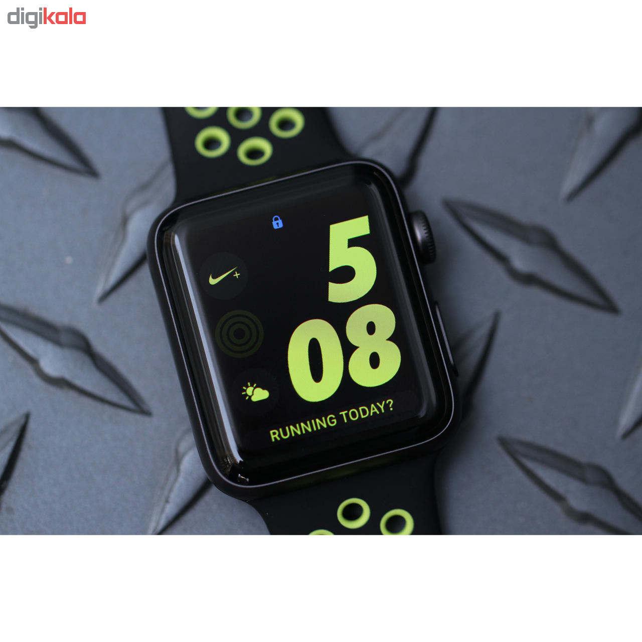 ساعت هوشمند اپل واچ 3 مدل 42mm Space Aluminum Case with Sport Band main 1 8