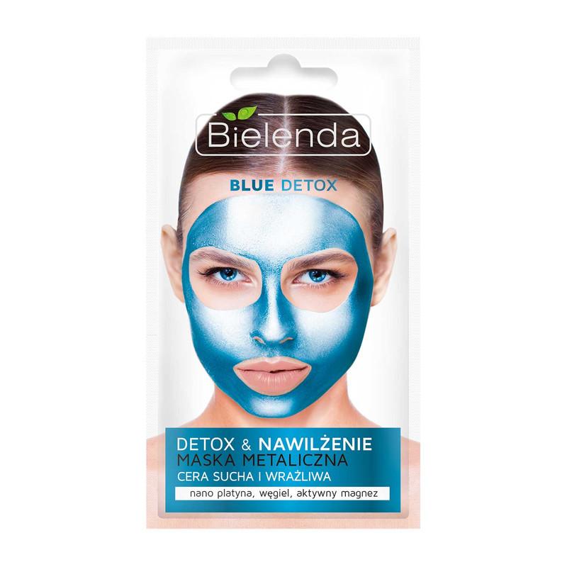 ماسک صورت بی یلندا مدل Blue detox حجم 8 میلی لیتر