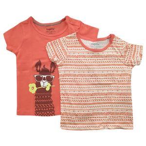 تیشرت نوزادی لوپیلو کد lp309 مجموعه 2 عددی