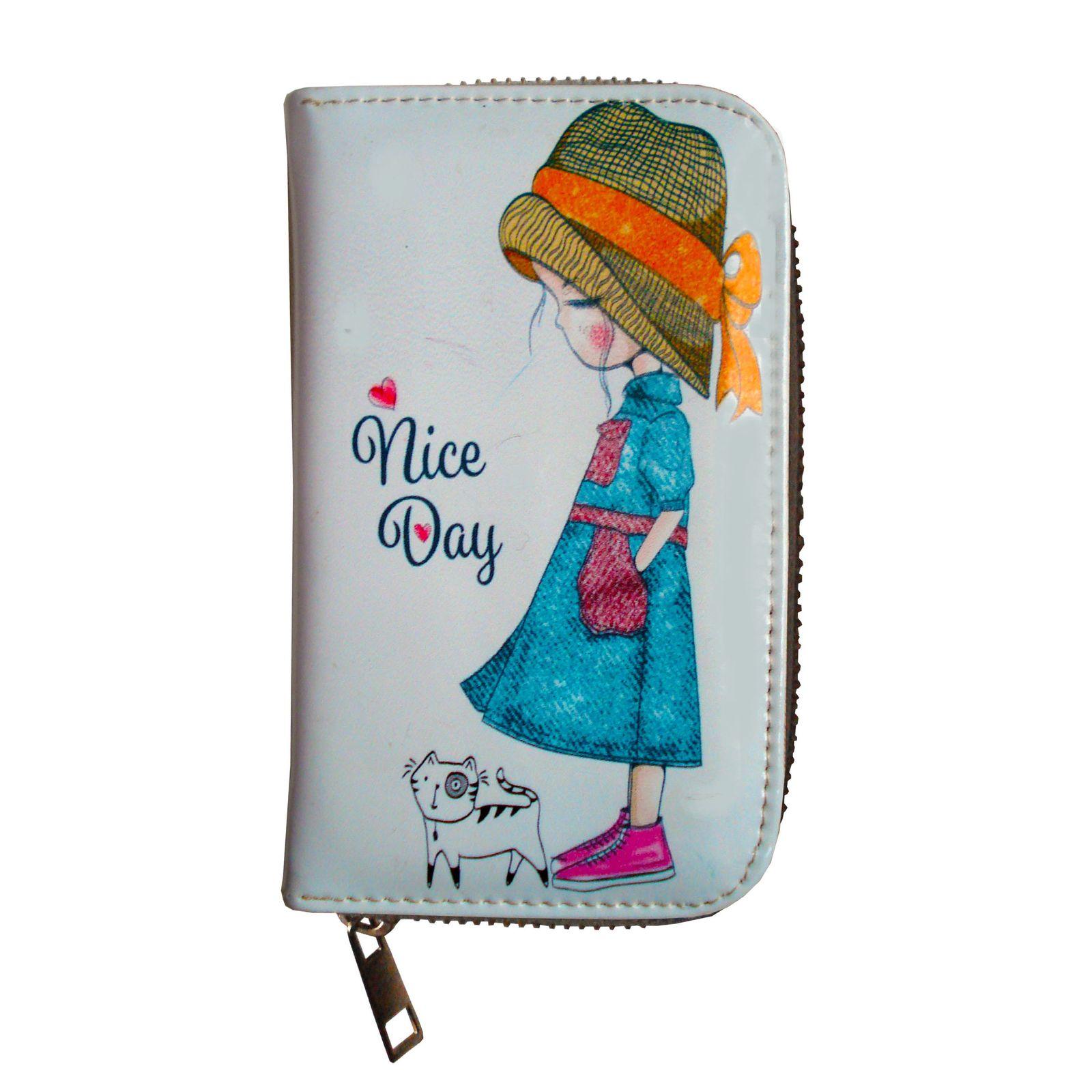 کیف پول دخترانه مدل DND-004 -  - 1