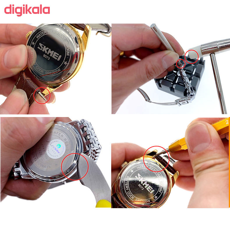 ابزار تعمیر ساعت مدل K01 مجموعه 20 عددی main 1 1