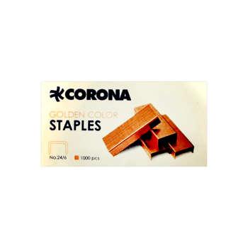 سوزن منگنه کرونا کد 3021 سایز 24/6 بسته 1000 عددی