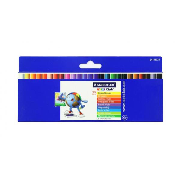 پاستل روغنی 25 رنگ استدلر مدل نوریس کلاب