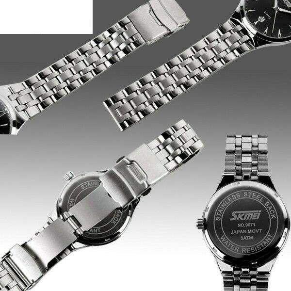 ساعت مچی عقربه ای زنانه اسکمی مدل9071 کد02 -  - 2
