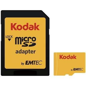 کارت حافظه microSDHC امتک کداک کلاس 10 استاندارد UHS-I U1 سرعت 85MBps 580X همراه با آداپتور SD ظرفیت 16 گیگابایت