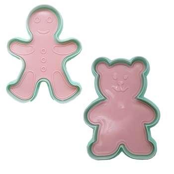 کاتر شیرینی مدل Bears-04 مجموعه 2 عددی