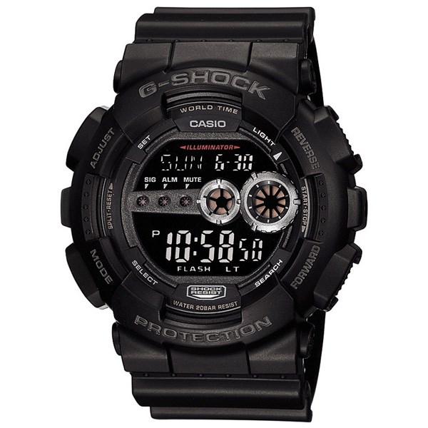 ساعت مچی دیجیتالی مردانه کاسیو جی شاک GD-100-1BDR 44