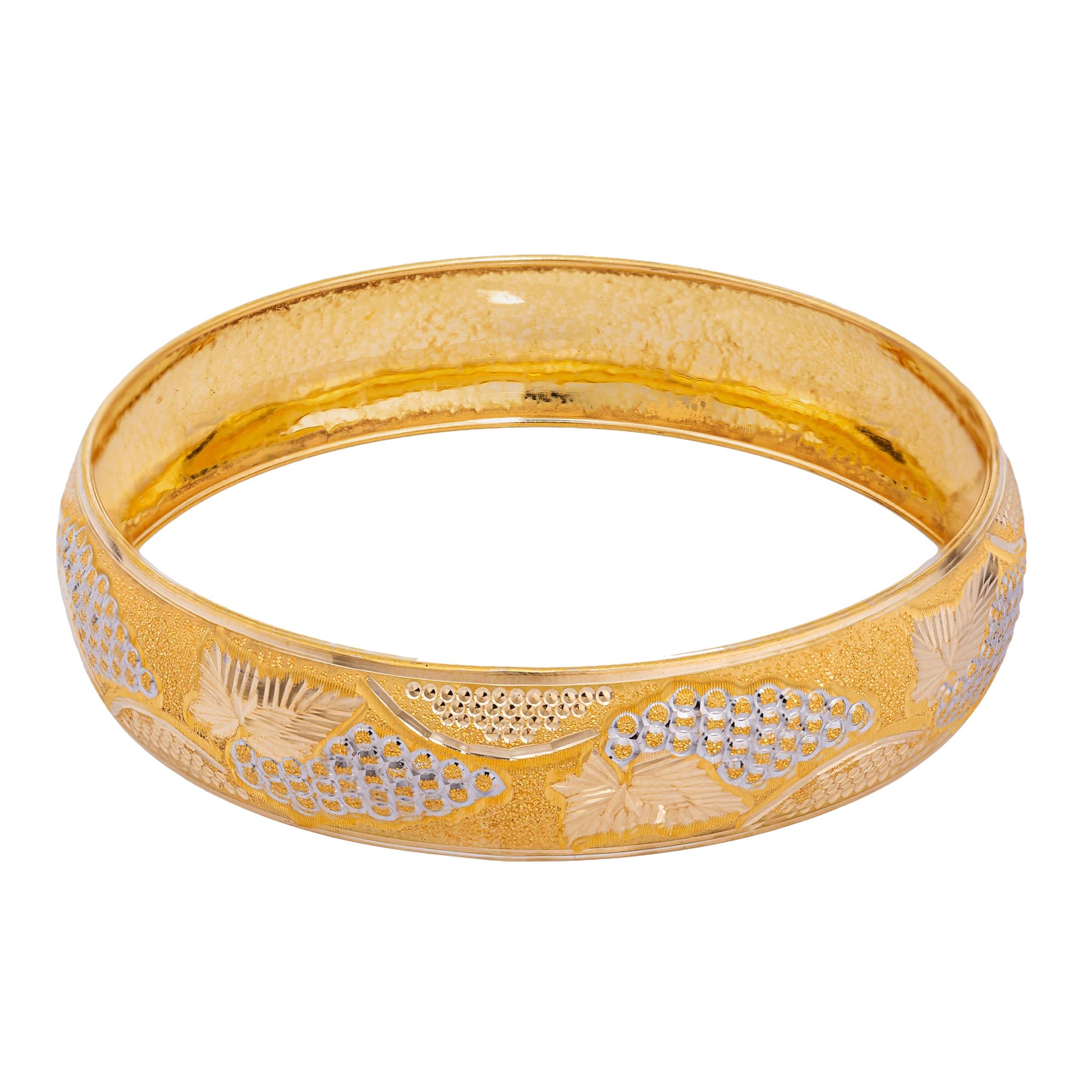 النگو طلا 18 عیار زنانه کد AL21G-4