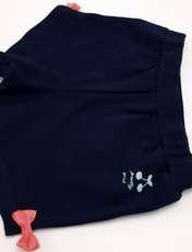ست تی شرت و شلوارک دخترانه کد ARTIBLU1 -  - 2