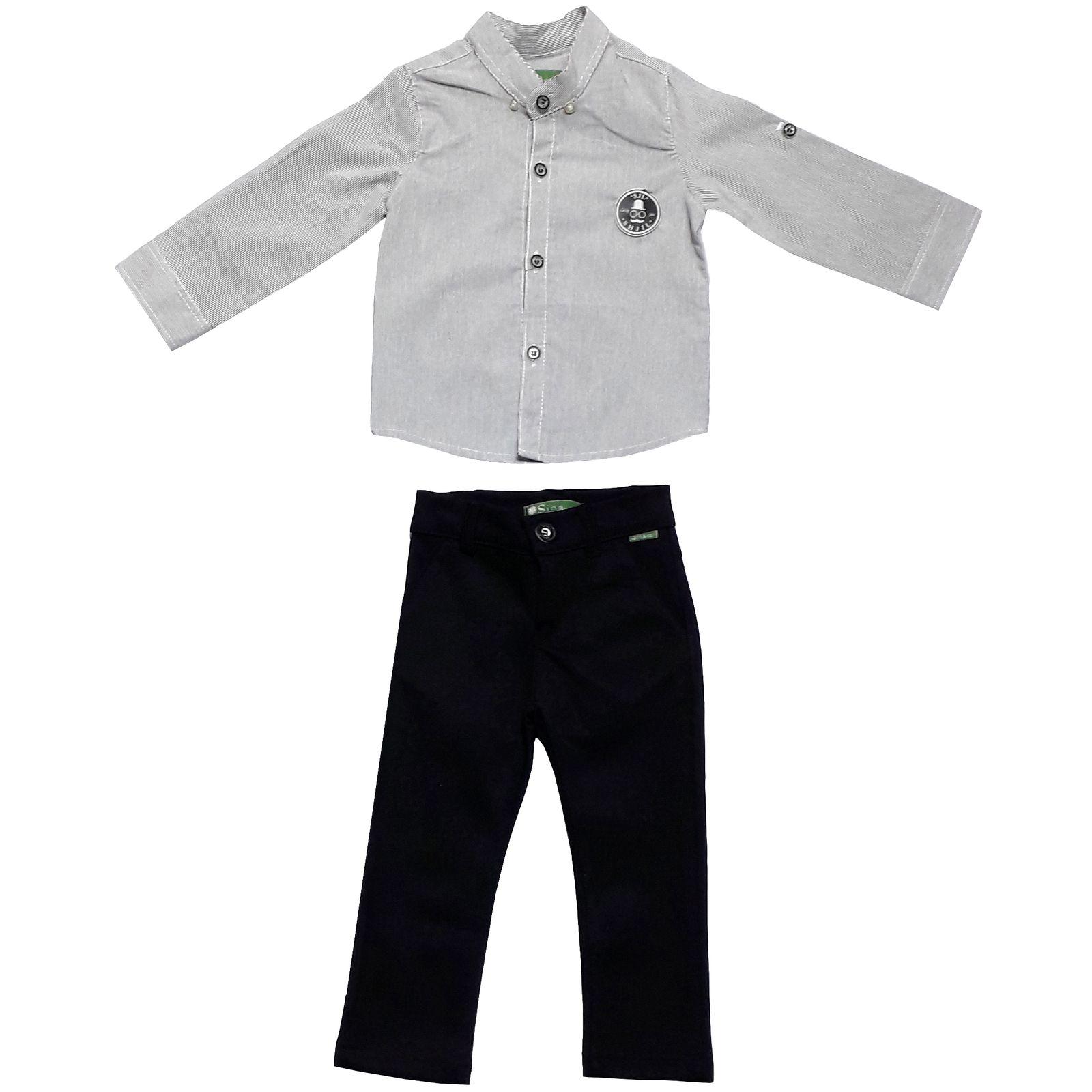 ست پیراهن و شلوار پسرانه مدل 4010 -  - 1