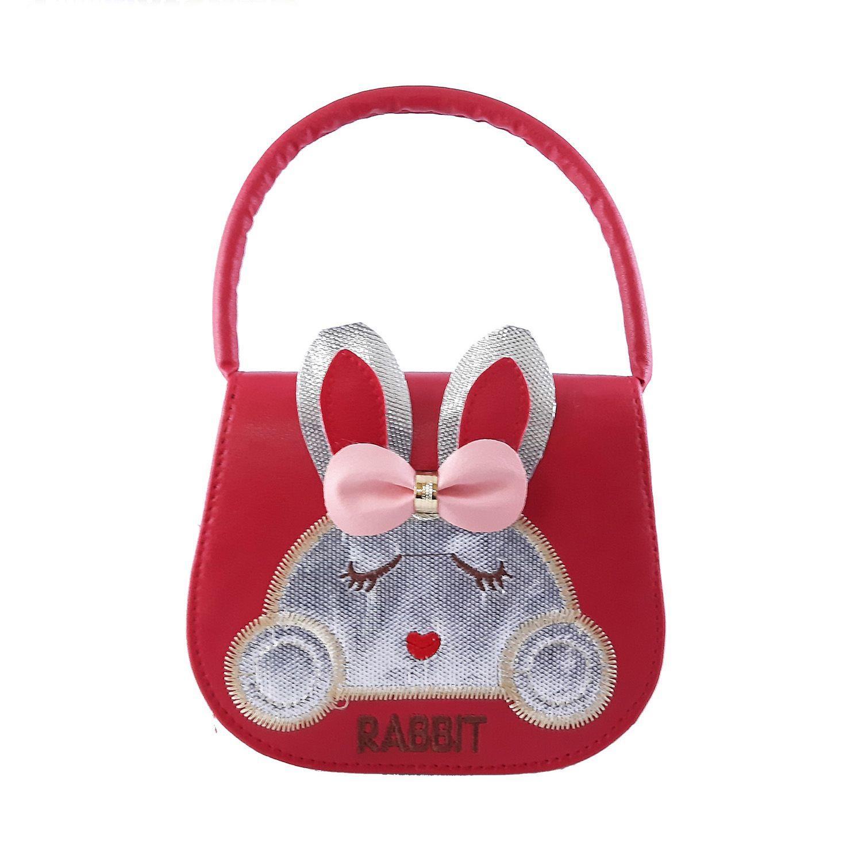 کیف دوشی دخترانه طرح خرگوش مدل N1010 -  - 4
