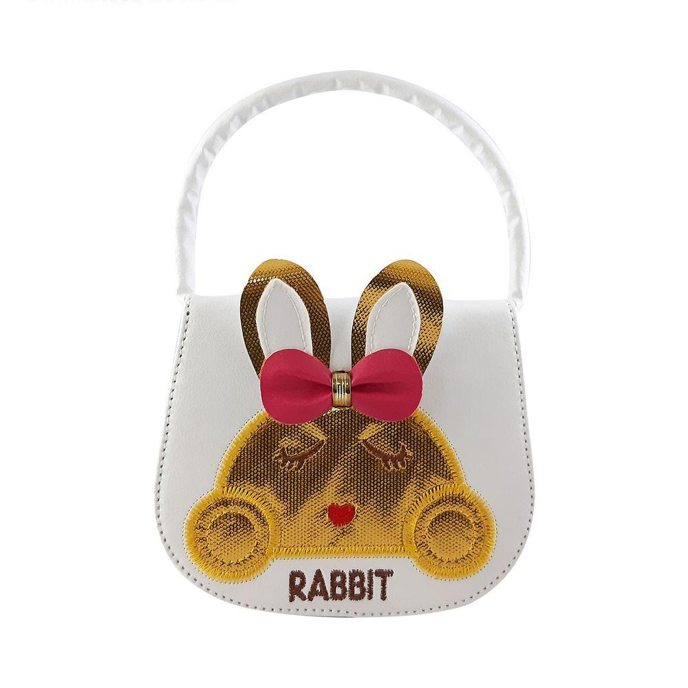 کیف دوشی دخترانه طرح خرگوش مدل N1010