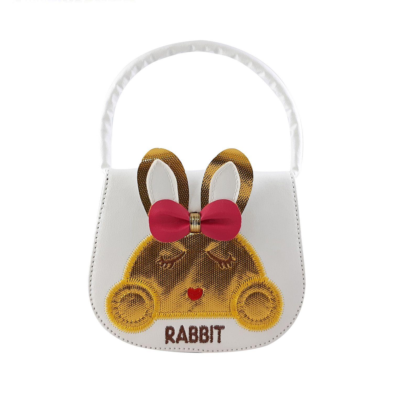 کیف دوشی دخترانه طرح خرگوش مدل N1010 -  - 2