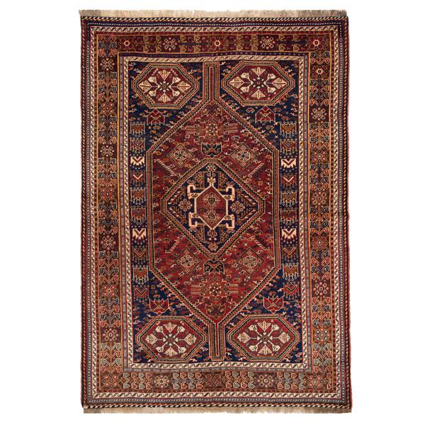 فرش دستباف قدیمی سه و نیم متری حیدریان کد 64838