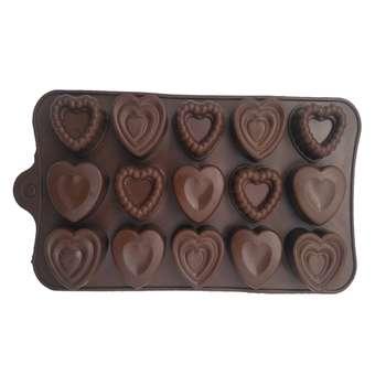 قالب شکلات طرح قلب کد n005