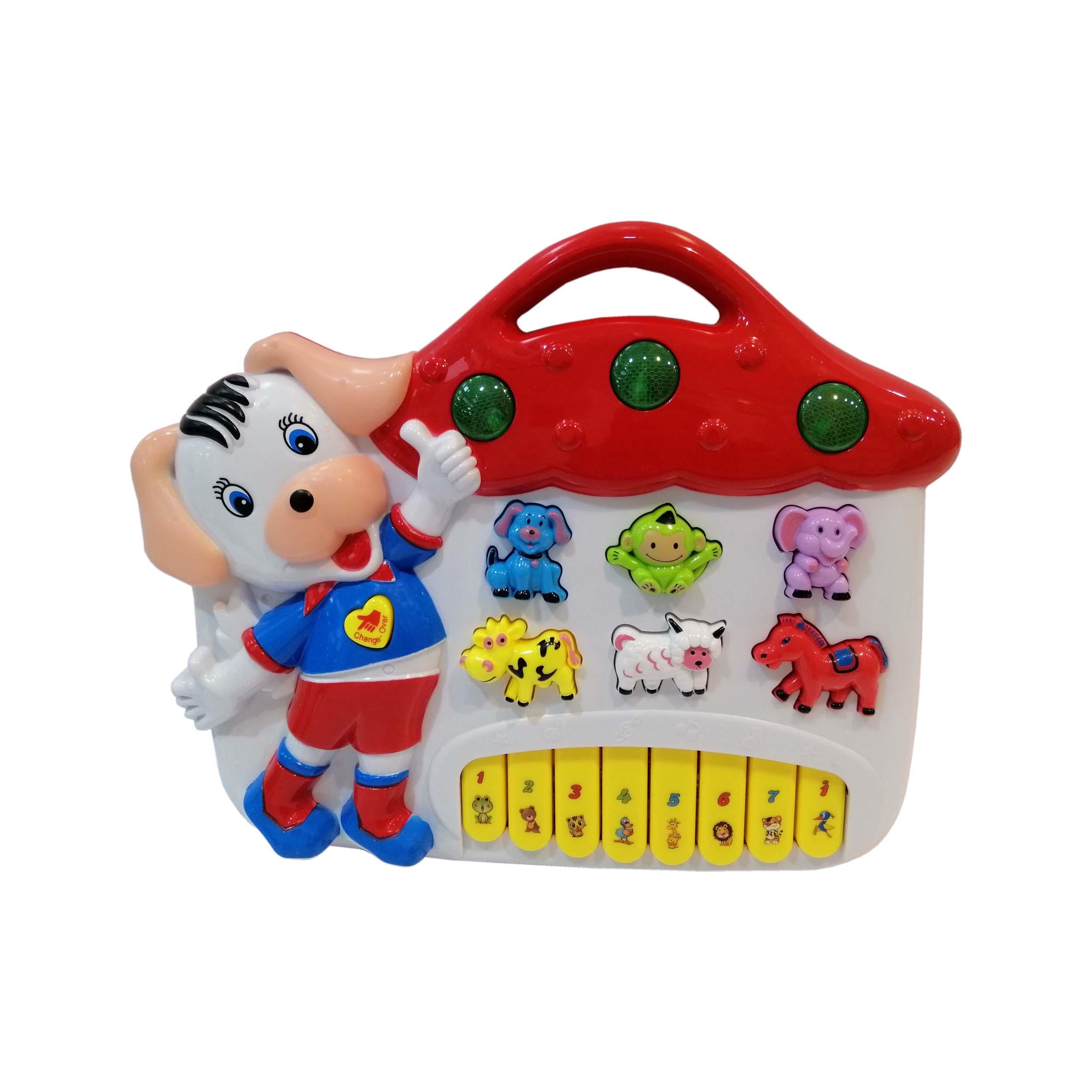 اسباب بازی پیانو طرح سگ مدل 2-855