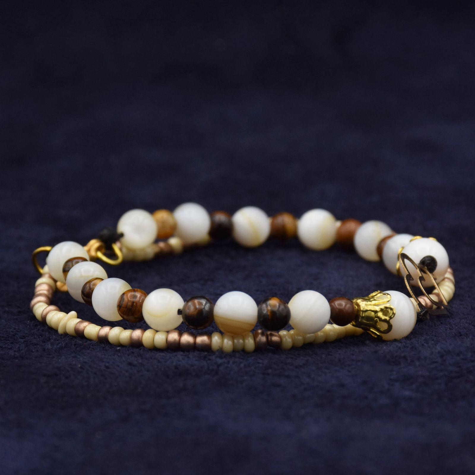 دستبند طلا 18 عیار زنانه آمانژ طرح قلب کد 972D8905 -  - 3