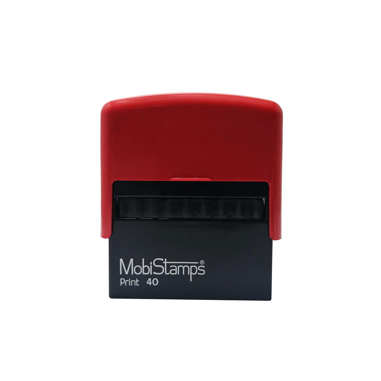 مهر موبی استامپ مدل C40