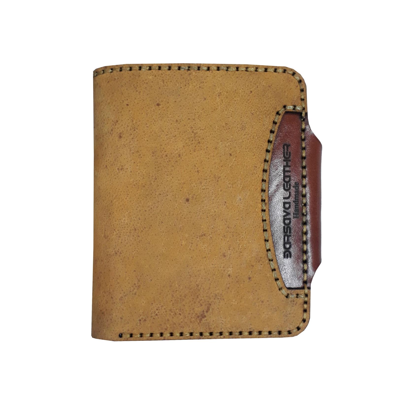 کیف پول مردانه چرم بارثاوا کد 1510 -  - 4