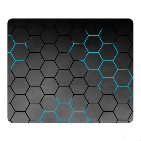 ماوس پد طرح Dark Hexagons مدل Z11
