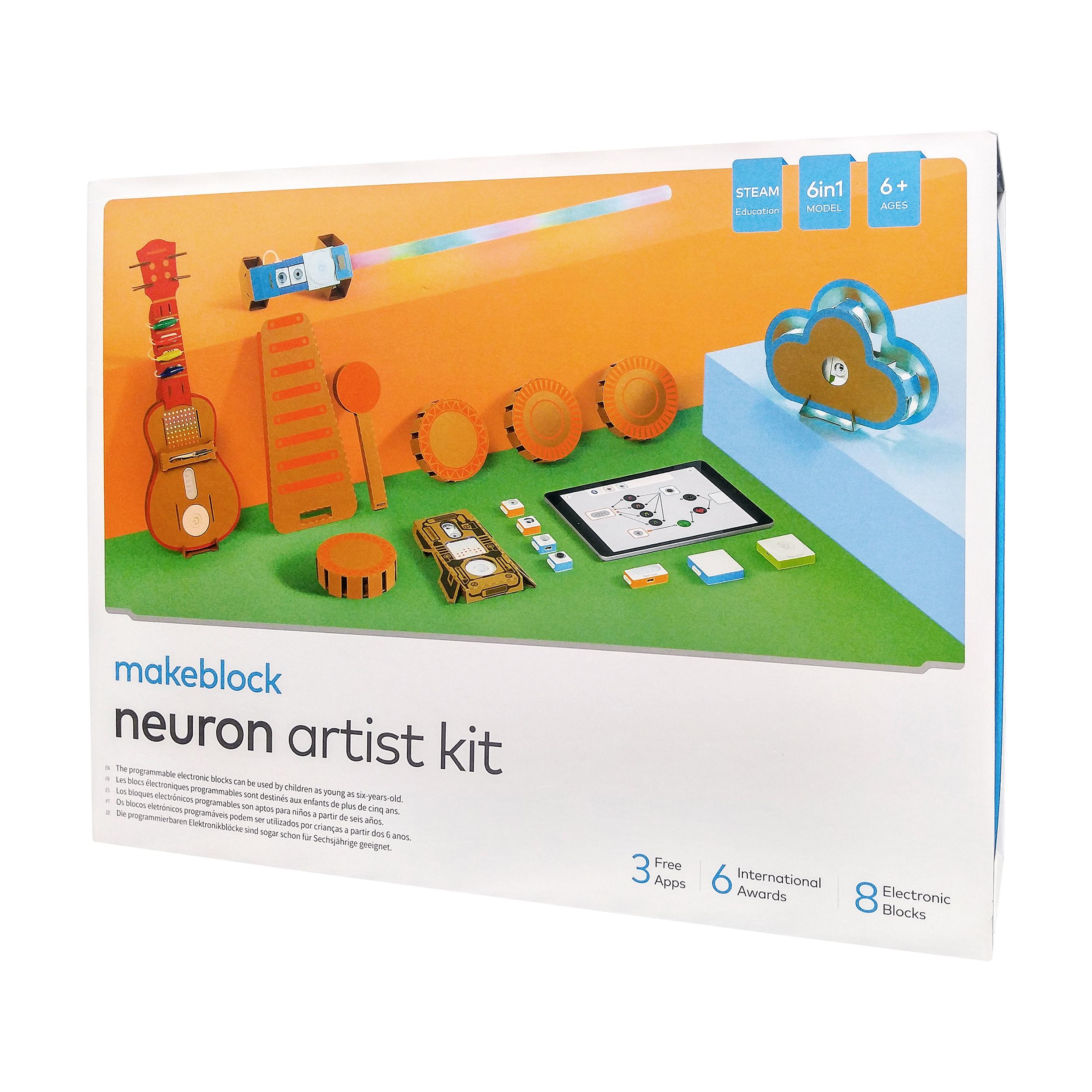 بسته رباتیک میک بلاک مدل نیورون آرتیست