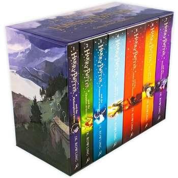 کتاب Harry Potter اثر J.K. Rowling انتشارات Bloomsbury هفت جلدی
