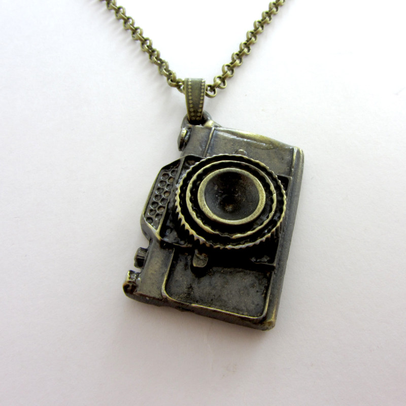 گردنبند طرح دوربین عکاسی کد 053