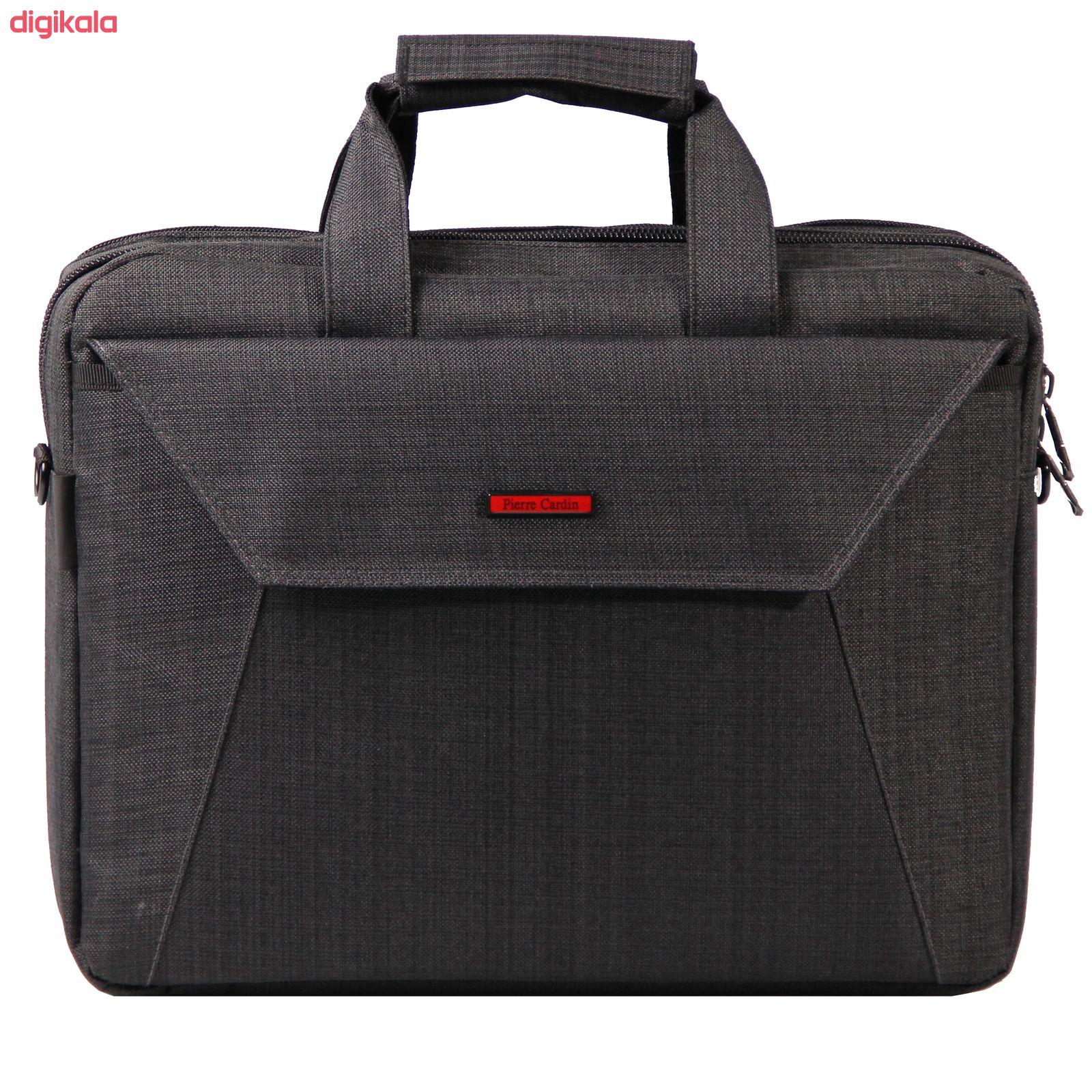 کیف لپ تاپ پیرکاردن کد 002 مدل pocket مناسب برای لپ تاپ 15.6 اینچی main 1 1