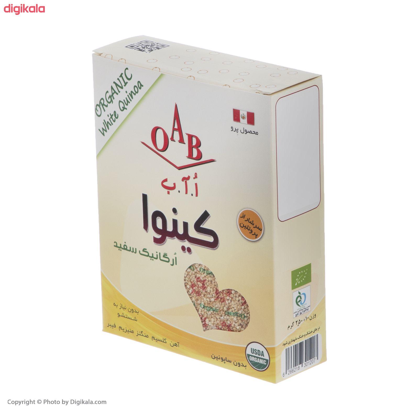 کینوا سفید ارگانیک اُ آ ب - 250 گرم  main 1 4