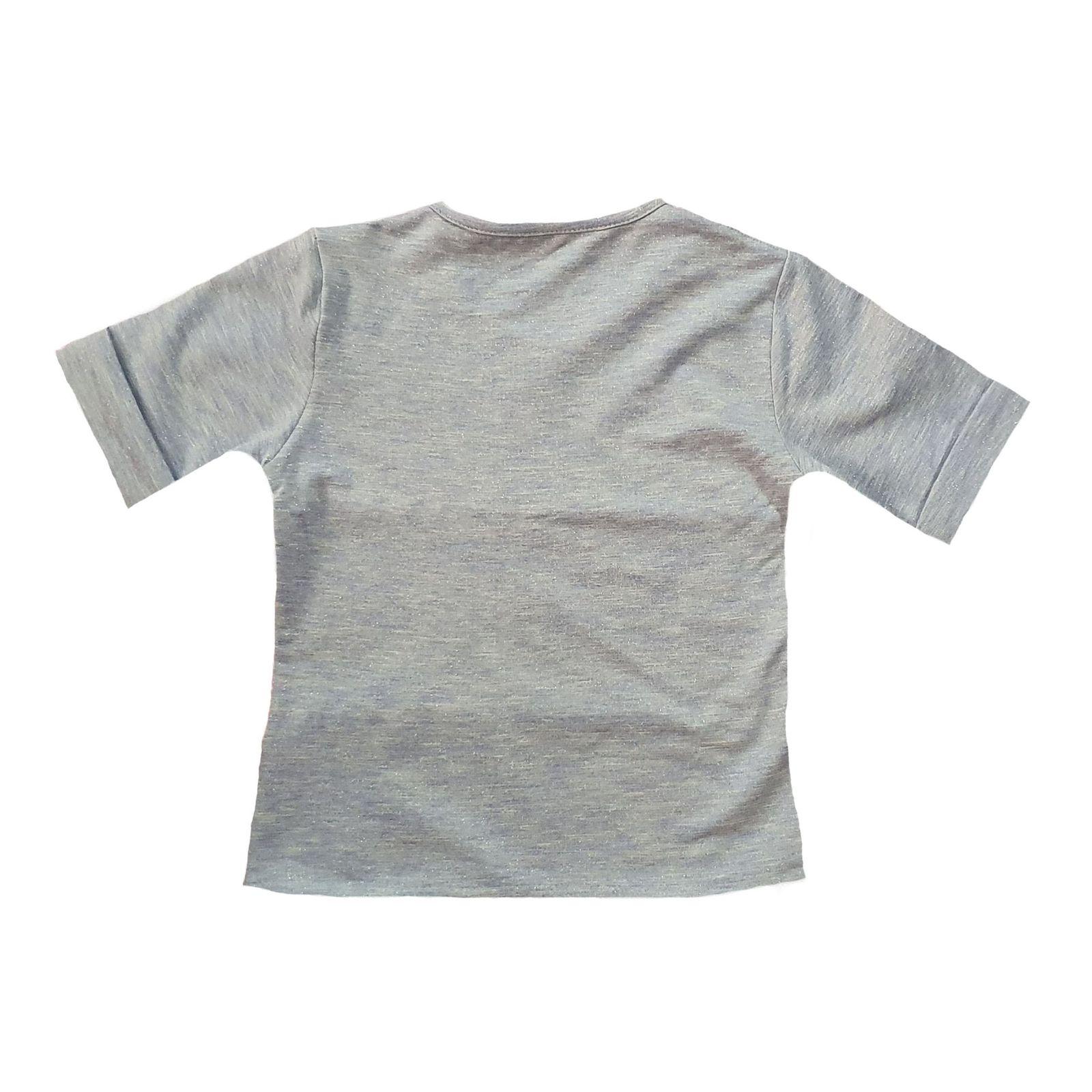 ست تی شرت و شلوار دخترانه کد 99b2 -  - 2