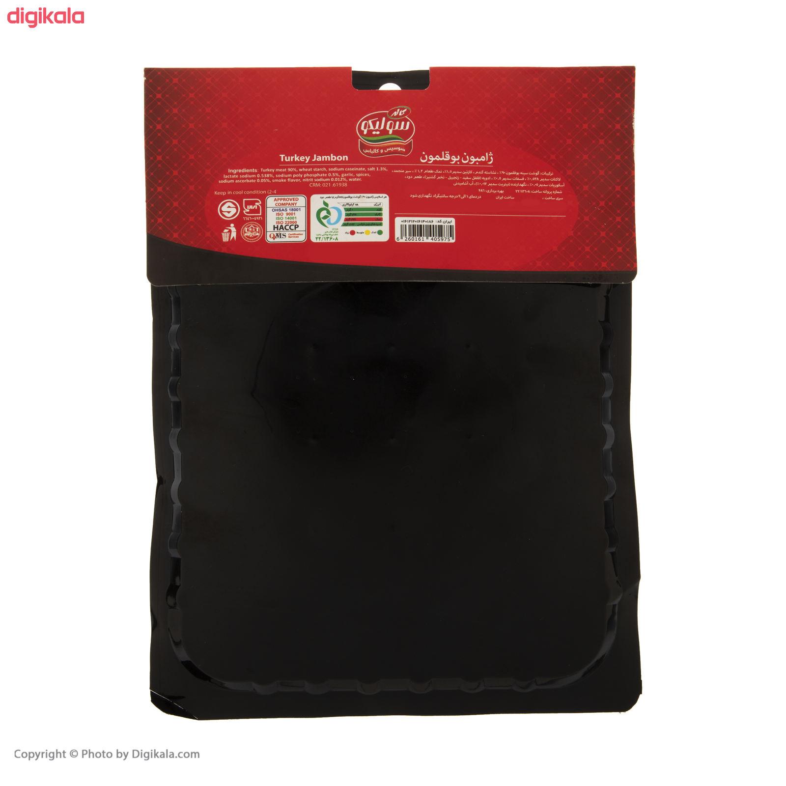 ژامبون بوقلمون سولیکو کاله - 250 گرم  main 1 1
