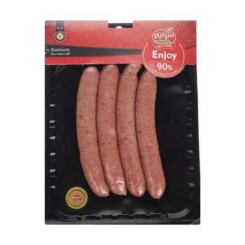 سوسیس انجوی 90 درصد گوشت قرمز سولیکو مقدار 300 گرم