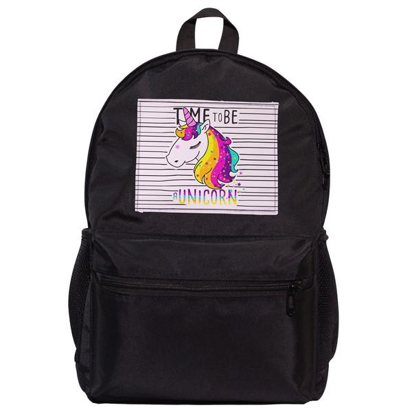 کوله پشتی دخترانه طرح unicorn کد 2010