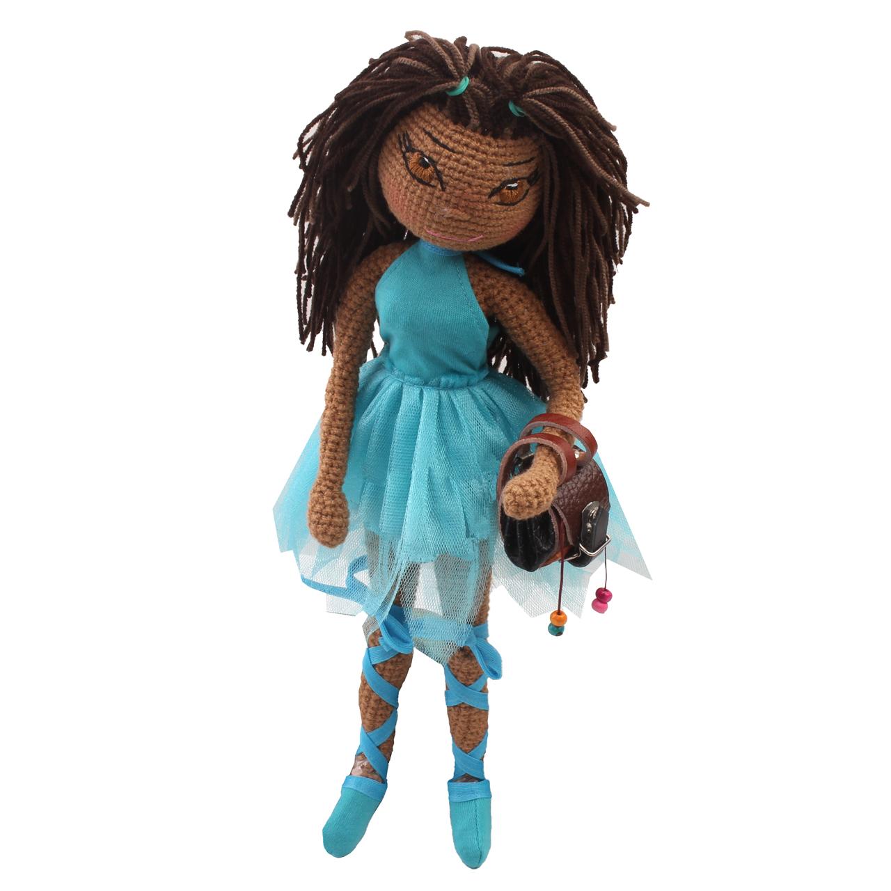 عروسک بافتنی پریا مدل Kimia02