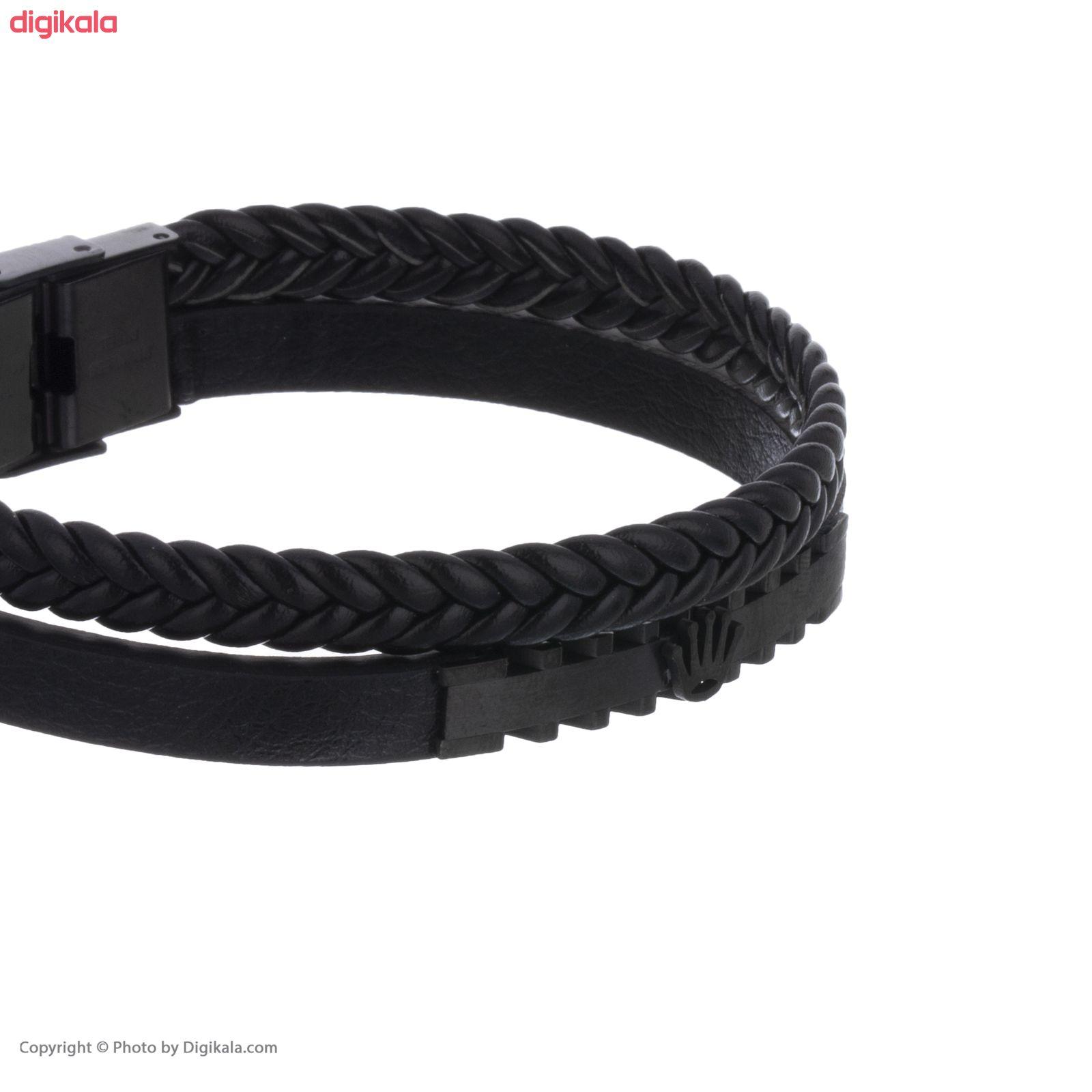 دستبند مردانه کد 10-2 main 1 2