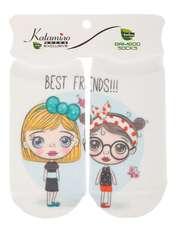 جوراب نوزاد کاتامینو طرح دختر مهربون  -  - 1