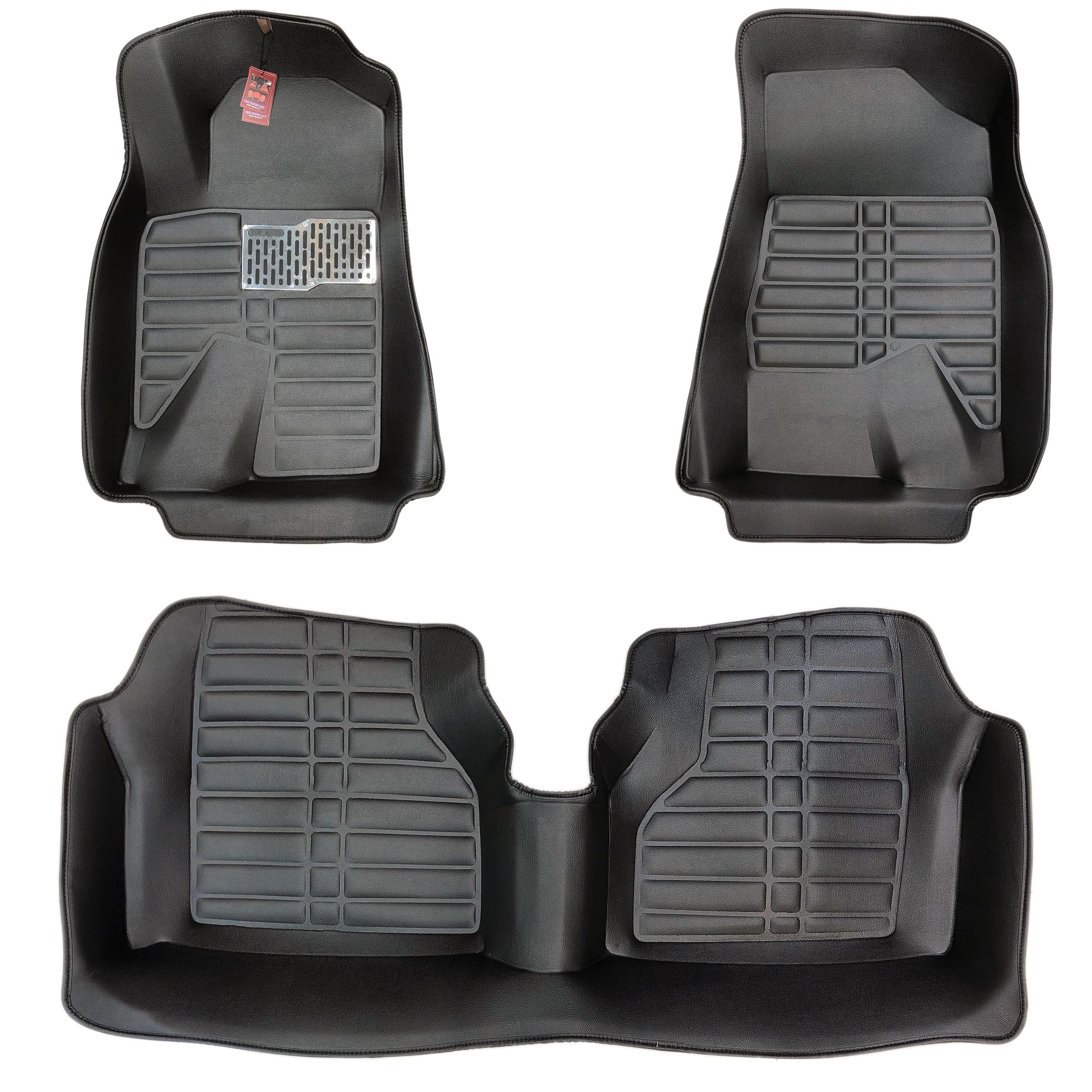 کفپوش سه بعدی خودرو یورولایت مدل 24 مناسب برای پژو پارس
