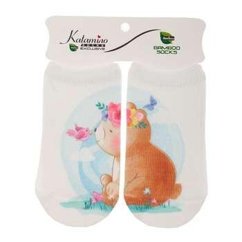 جوراب نوزاد کاتامینو طرح خرس تنبل