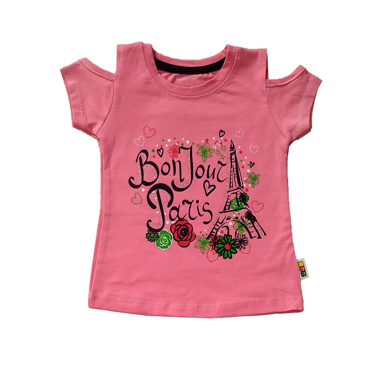 ست تی شرت و شلوارک دخترانه کد G-1007 -  - 1