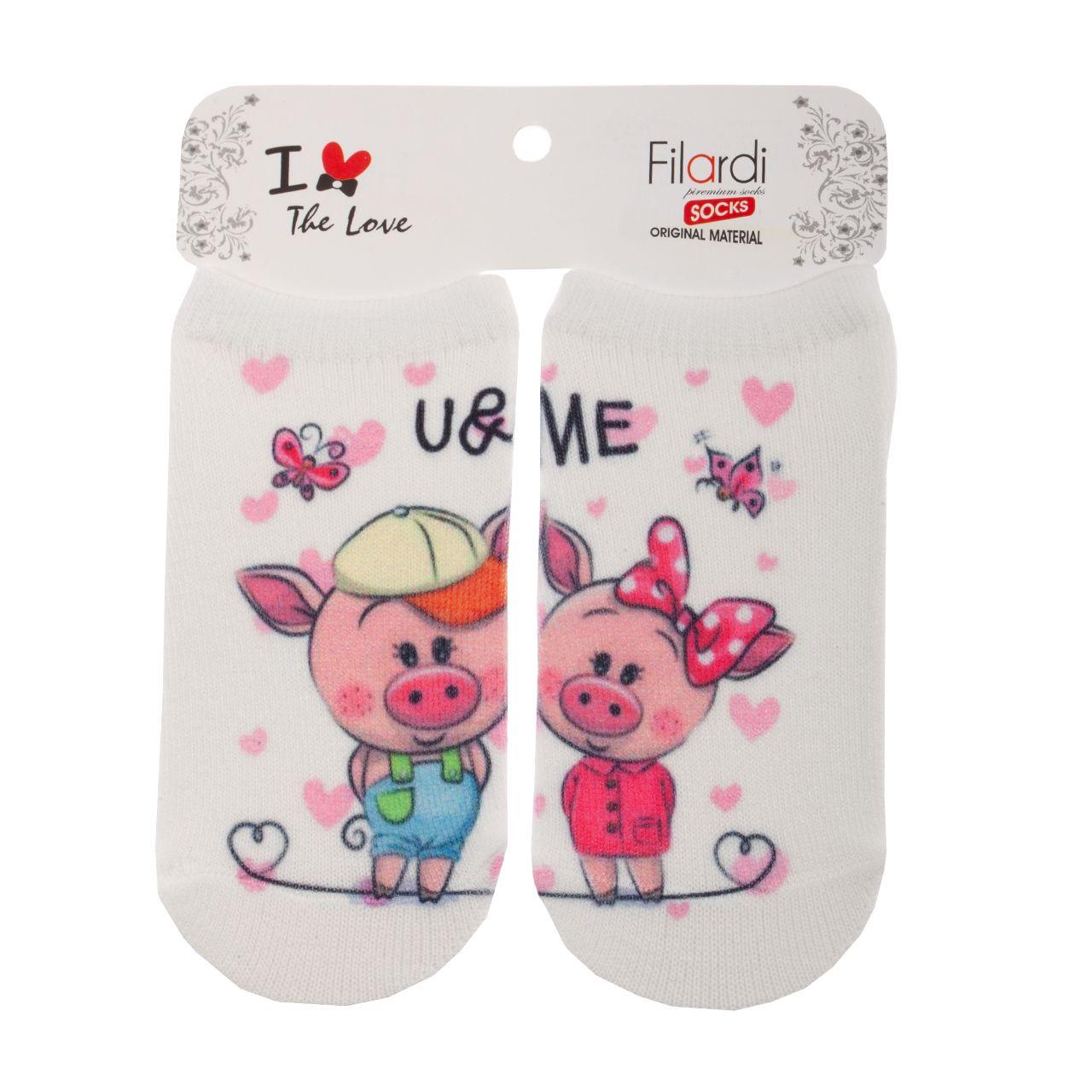 جوراب نوزاد فیلاردی طرح خوک کوچولو -  - 1