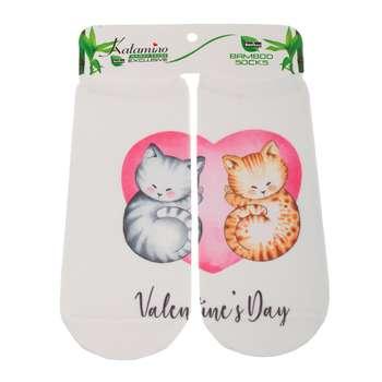 جوراب دخترانه کاتامینو طرح گربه های خوابالو