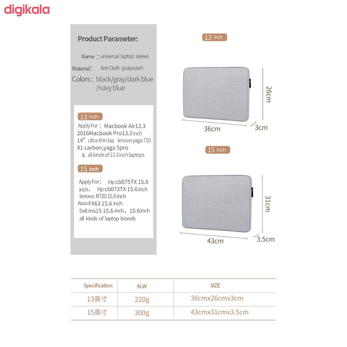 کاور لپ تاپ مدل BUBM01 مناسب برای لپ تاپ 13 اینچی main 1 2