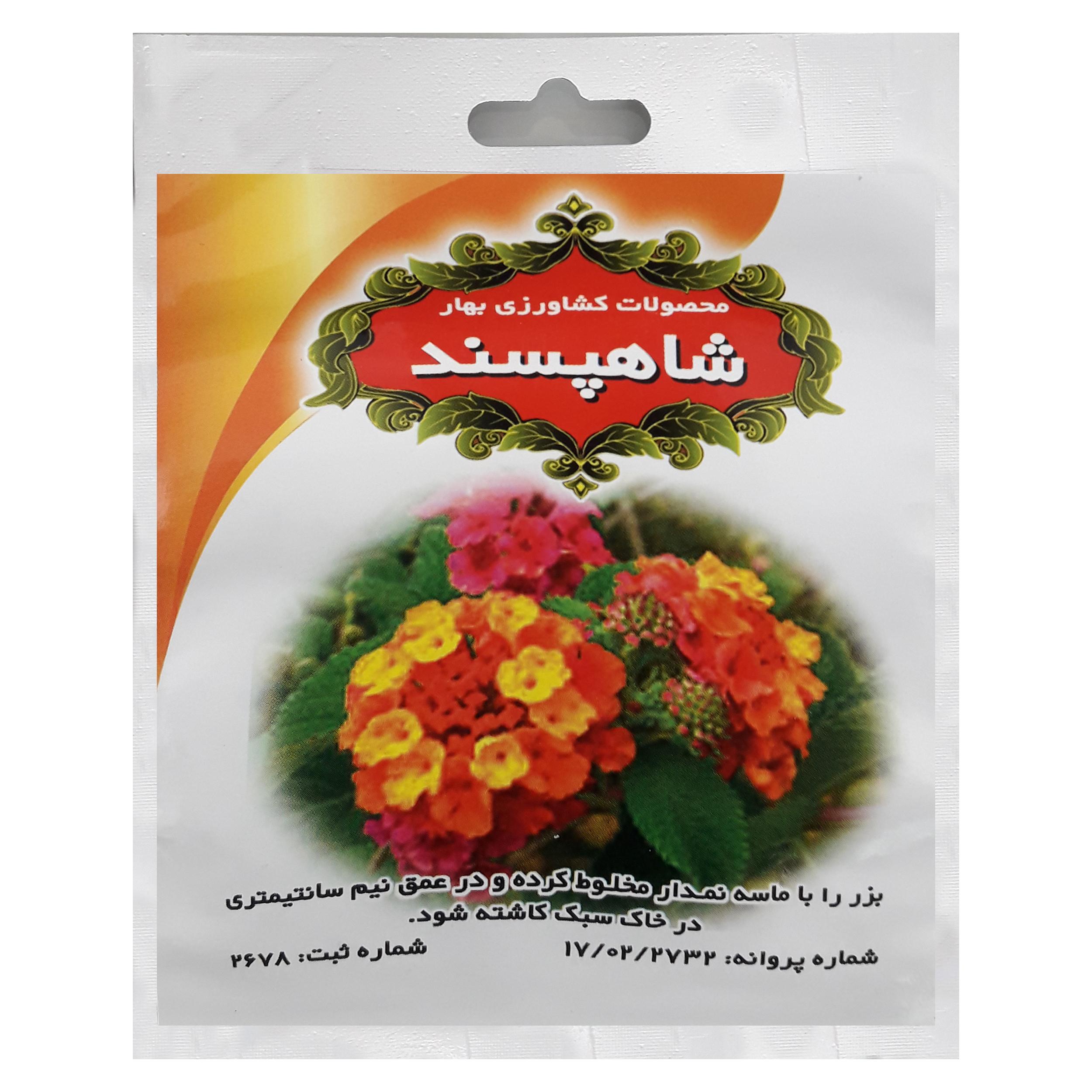 بذر گل شاهپسند محصولات کشاورزی بهار کد 008