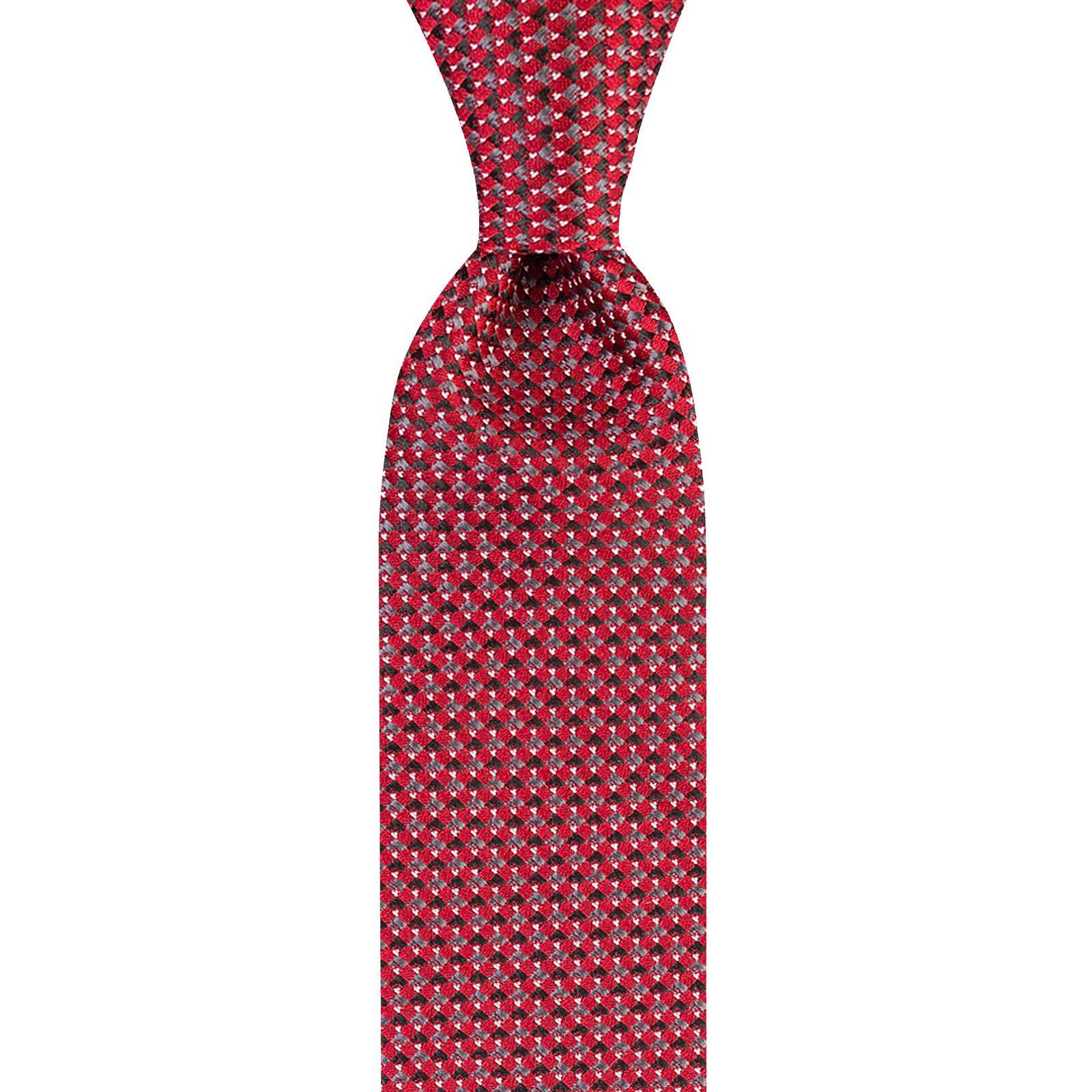 ست کراوات و دستمال جیب و گل کت مردانه جیان فرانکو روسی مدل GF-PO228-BE -  - 2
