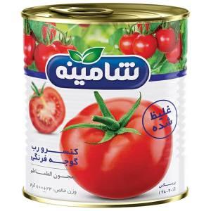 رب گوجه فرنگی غلیظ شده شامینه - ۸۰۰ گرم