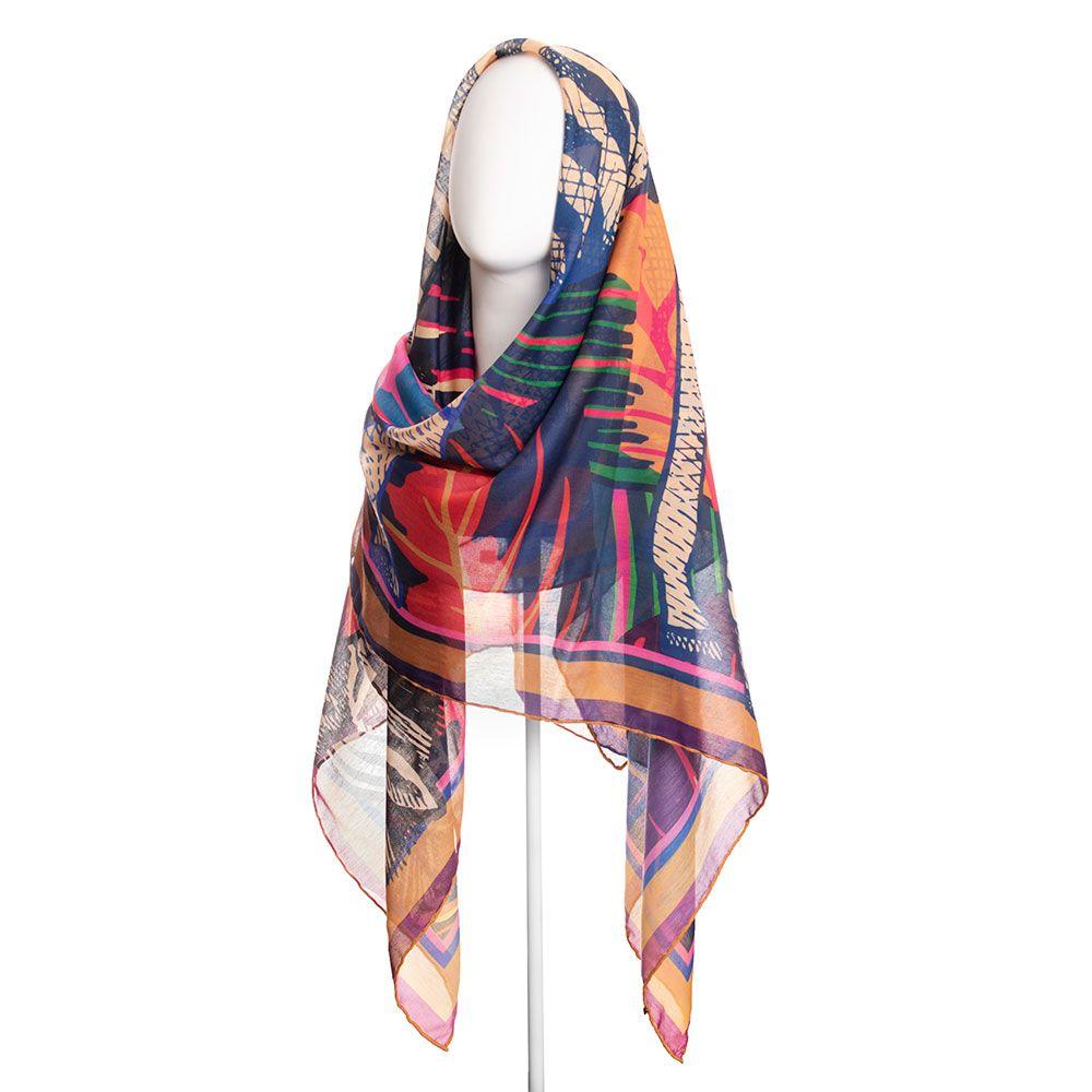 روسری زنانه نوولاشال کد 022481 -  - 2