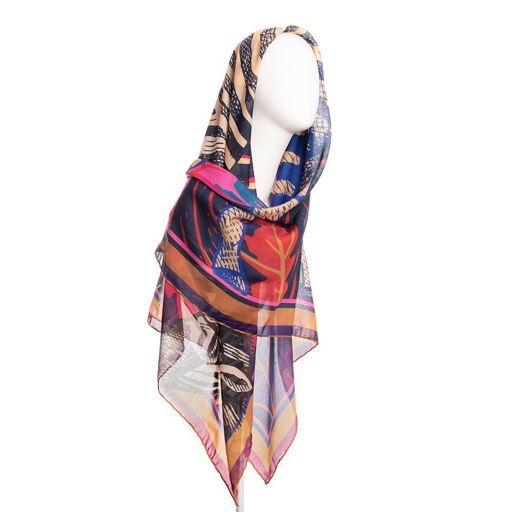 روسری زنانه نوولاشال کد 022481 -  - 3